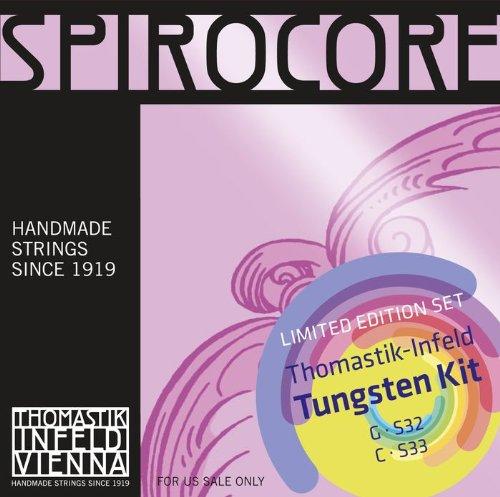 Dr Thomastik S32S33 Spirocore Cello Tungsten G&C Value Pack