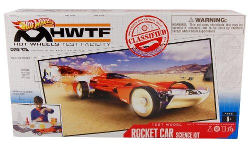 Hot Wheels Test Facility Exclusive Boxed Rocket Car Science Kit