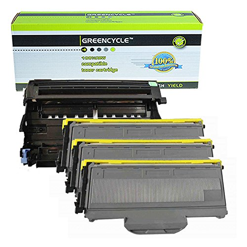 TN360+DR360 2PK Drum Unit  for Brother MFC-7345DN,7345N,7440 Toner Cartridge
