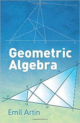 Geometric Algebra (Dover Books on Mathematics) by Emil Artin (2016-02-26)