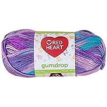Coats: Yarn Red Heart Gumdrop Yarn, Grape