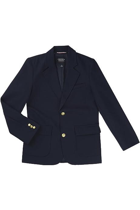 Bienzoe Boys Durable Teflon School Uniform Blazer