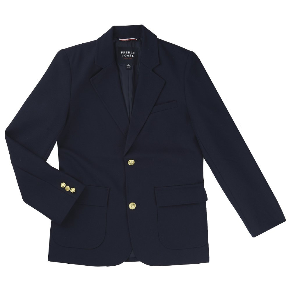 French Toast Little Boys' School Blazer, Navy, 4