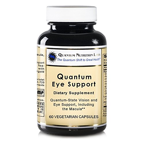 Quantum Eye Support, 240 caps / 4 Bottles - Premier Research Ocuven Vision and Eye Support, Including the Macula. Contains Lutein and Zeaxanthin. by Quantum Nutrition Labs