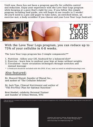 Amazon Com Love Your Legs Cellulite Reduction At Home Program Kim Overton Kim Overton Movies Tv