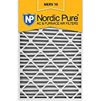 Nordic Pure 20x30x2 MERV 10 Pleated AC Furnace Air Filter,  Box of 3