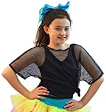 1980s-Fame-Stag-Hen-Fancy Dress-Dance-Disco-Retro-Street-Madonna-Pop NEON MESH TOP Available in 4 colours (Black Top)