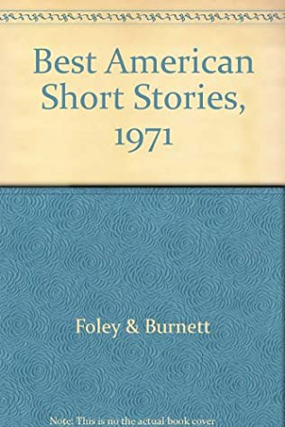 book cover of The Best American Short Stories 1971