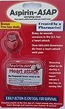 Emergency Critical Aspirin Pill Holder- Save Your Life