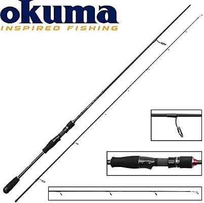 Okuma RTX Spin 180 cm 0 – 7 g – Ultra Light caña de spinning para ...