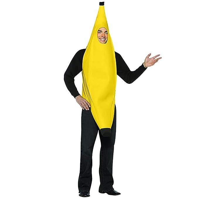 Amazon.com: Traje de baile de banana para hombre, mujer ...
