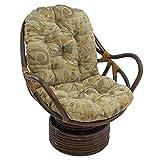 Best International Caravan Chair Rockers - International Caravan 3310-JCH-9-IC Furniture Piece Rattan Swivel Rocker Review