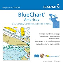 Garmin BlueChart Americas Saltwater Map CD-ROM (Windows) (Discontinued by Manufacturer)
