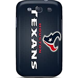Ultra Slim Fit Hard Mialisabblake Case Cover Specially Made For Galaxy S3- Houston Texans by mcsharks