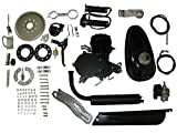 DEEP TOUCH 26'' or 28'' 80cc Bike Bicycle Motorized 2 Stroke Cycle Motor Engine Kit Set Black