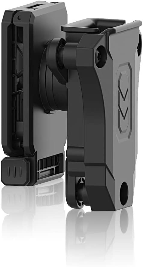 efluky Portacargador Solo Funda para Pistola Cargador Bolsa Universal Portacargador Doble para H&K USP FS/Compact 9mm/.40/Beretta/Golck 17 19/CZ 75/Walther P99/Sig Sauer p226