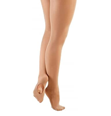 ccef7582a411d Ladies Tan Convertible Dance Tights: Amazon.co.uk: Clothing