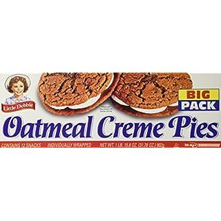 Little Debbie Oatmeal Crème Pie Big Pack, 12 Count per box 31. 78 Ounce