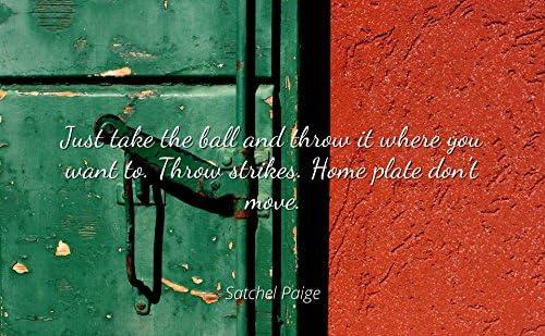 Amazon com - Satchel Paige - Famous Quotes Laminated Poster
