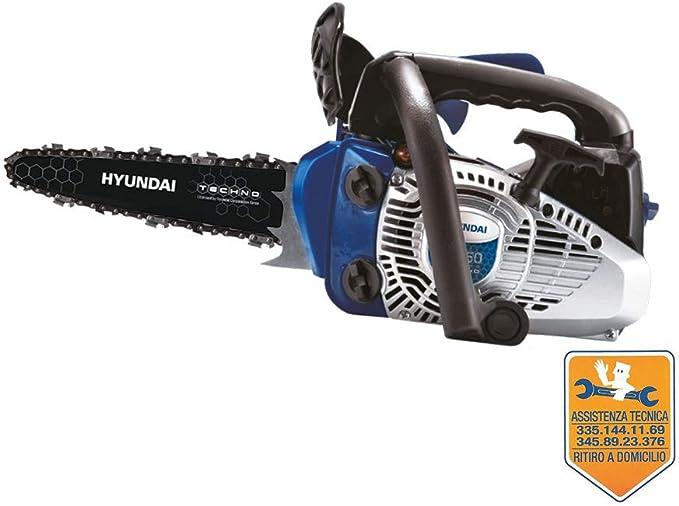 Hyundai Carving Storm YS-2512 Cilindrada 25 cm3 Espada 25 cm Peso ND