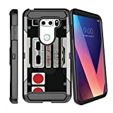 MINITURTLE Case Compatible w/ Rugged LG V30 Plus MAX GUARD Phone Case [Carbon Fiber MINITURTLE Rugged Clip Case for LG V30 | V30 + ] Rotating BeltClip Holster & Locking Stand Design Game Controller Review