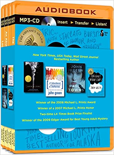 John Green Audiobook Collection on MP3-CD: Looking for Alaska, An ...