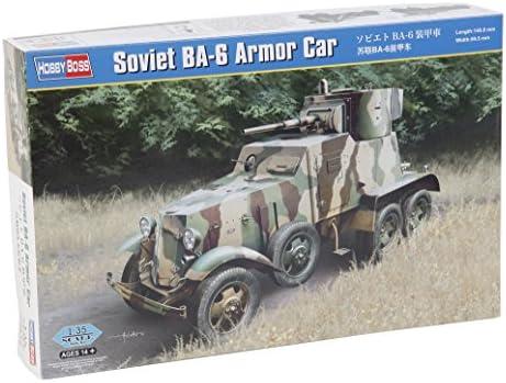 Hobby Boss 83839 - Modellbausatz Soviet BA-6 Armor Car