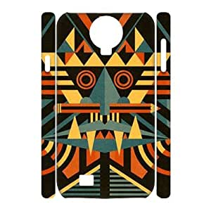 Aztec Wood DIY 3D Cell Phone Case for SamSung Galaxy S4 I9500 LMc-34425 at LaiMc