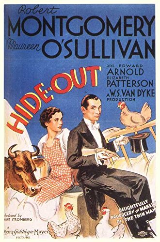 Eclipse-Out POSTER Movie (1934) Style A 11 x 17 Inches - 28cm x 44cm (Robert Montgomery)(Maureen O'Sullivan)(Edward Arnold)(Elizabeth Patterson)(Whitford Kane)