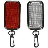 Kikkerland FL20 Flasher Safety Reflector Lights, 2-Set