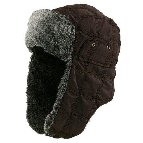 MinLee/Star/Vivian Unisex Stitched ML Winter Trooper Hat - - Flap E4hats Hat Nylon