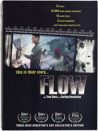Flow - The True Story of a Surfing Revolution - Surfing Video on DVD Special Collector