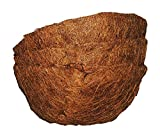 Basket Shaped Coco Fiber Replacement Liners 10 inch