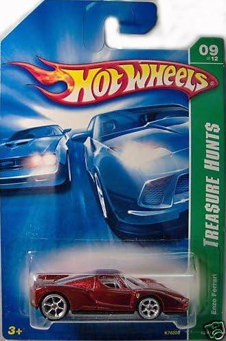 Amazon Com Hot Wheels Super Treasure Hunt Enzo Ferrari 2007 Toys Games