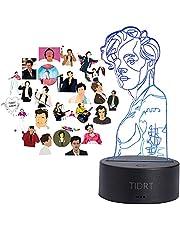 3d Nachtlampje Harry Styles Lamp Cadeau Voor Fans Slaapkamer Decor Licht Led Touch Sensor Kleur Veranderende Bureaulamp Harry Styles