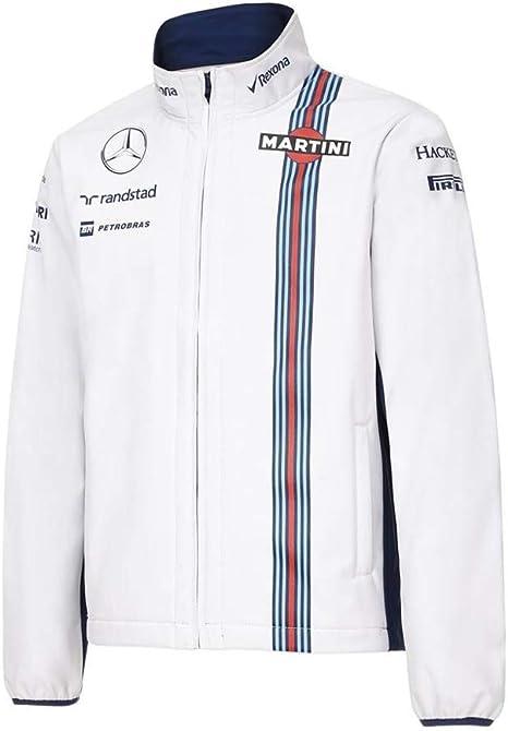 Stile di Hackett London XS Giacca Impermeabile F1 2016 Williams Martini Racing