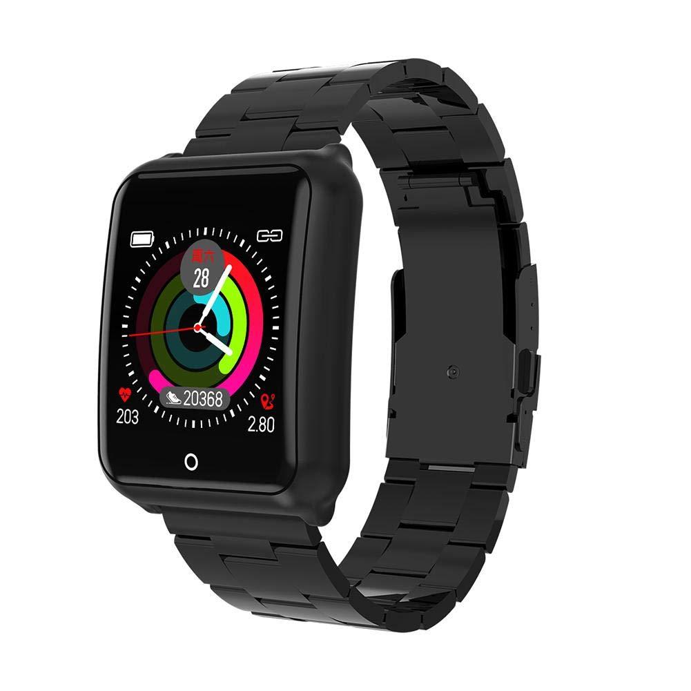M39 Bluetooth Smart Watch, IP67 Smartwatches Smartwatches Fitness Tracker con monitor de ritmo, podómetro, monitor de actividad, monitor de sueño, monitor de presión arterial para Samsung Android IOS