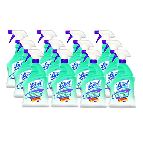 Professional LYSOL Brand 74411CT Antibacterial Kitchen Cleaner, 32oz Bottles (Case of 12)