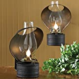 Park Designs Hooded Hurricane Oil Lamp For Sale