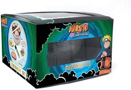 Pyramid America Naruto Ramen Bowl Stationery Set Shonen Jump Shippuden