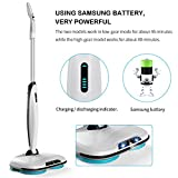 EVERTOP Spray Mop, 3 in 1 Portable Cordless Spin
