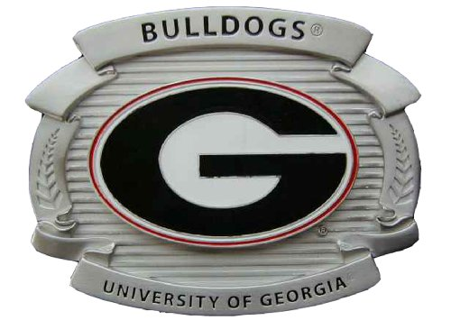University of Georgia Bulldogs Large Size Novelty Belt Buckle