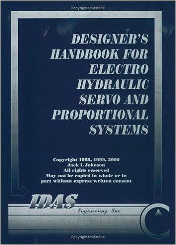 Designers' Handbook for Electrohydraulic Servo and