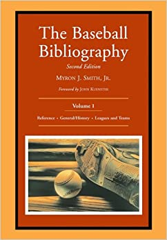 The Baseball Bibliography, Vol. 1