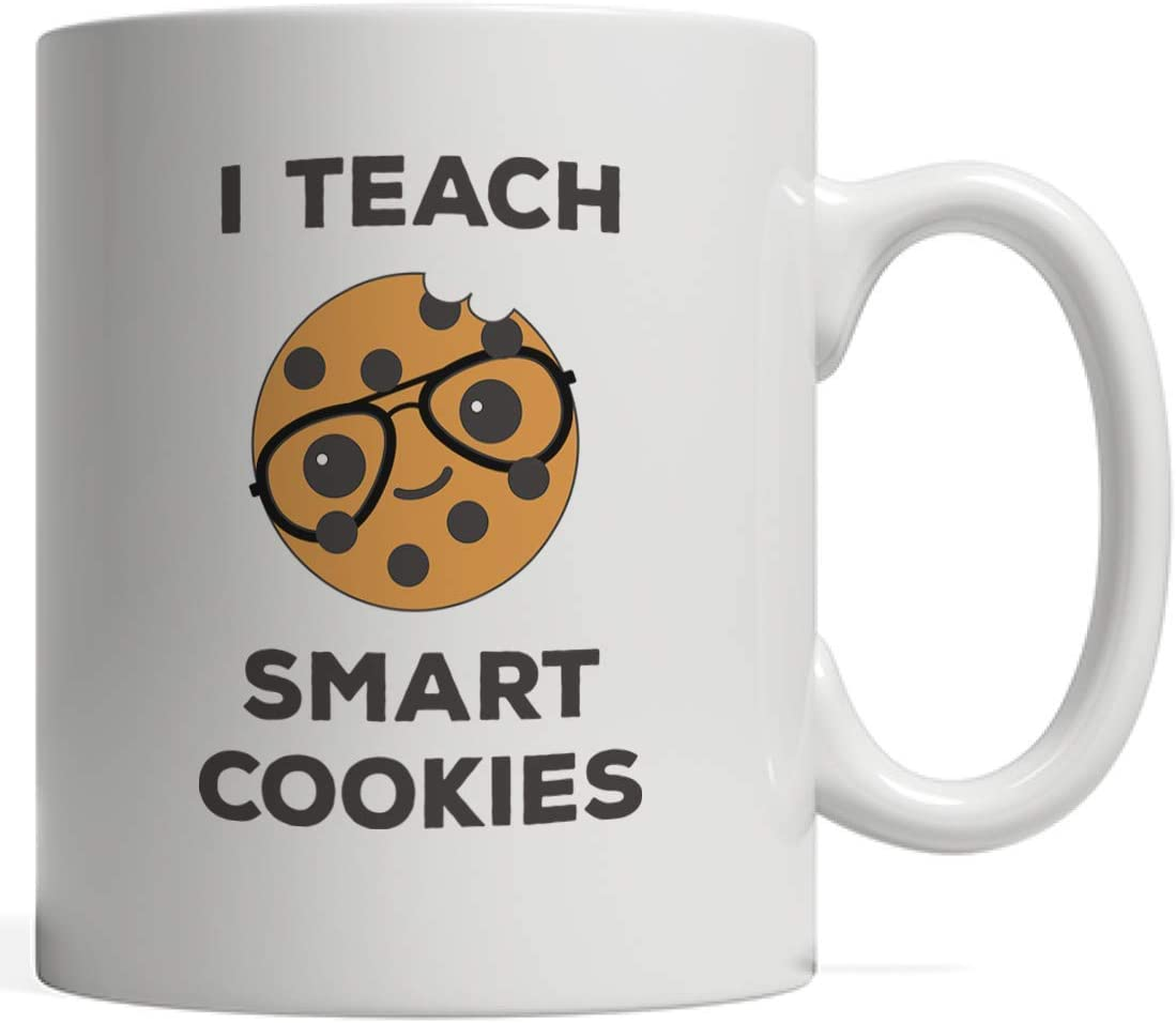 amazon com teacher of smart cookies mug funny teachers christmas gift idea for cute kindergarten school kids who love cookie from professors who love to teach middle preschool or teaching prek elementary teacher of smart cookies mug funny teachers christmas gift idea for cute kindergarten school kids who love cookie from professors who love to teach