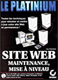 img - for Maintenance et mise   niveau d'un site Web book / textbook / text book
