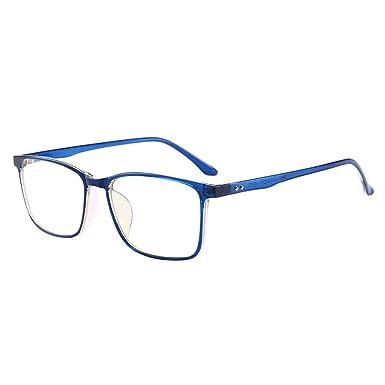 VEVESMUNDO Brillen Anti blaulicht Computer Ohne Sehstärke Hornbrille Nerdbrille Damen Herren Retro Vintage Vollrand Klassisc Klare Gläser mit Brillenetui (Grau) j65yJ25h