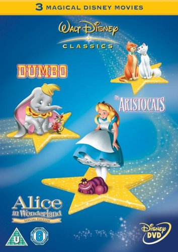Dumbo/the Aristocats/Alice in Wonderland [Special Edition] [Import anglais]