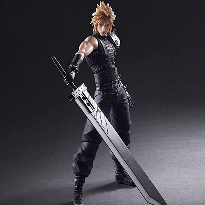 FF7 Game Around Play Arts Kai Final Fantasy VII Cloud Movable Action Figure Toy