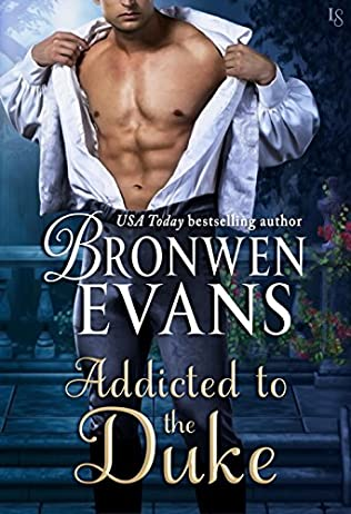 book cover of Addicted to the Duke